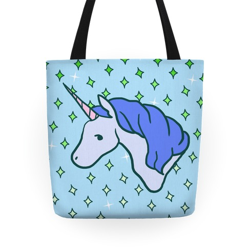 Magical Unicorn (Blue) Tote