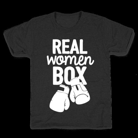Real Women Box Kids T-Shirt