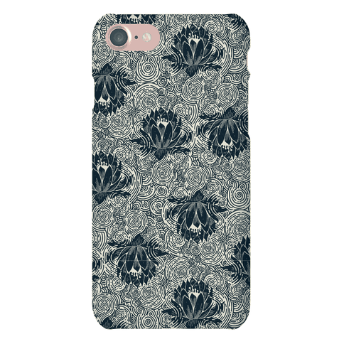 Lotus Flower Pattern Phone Case
