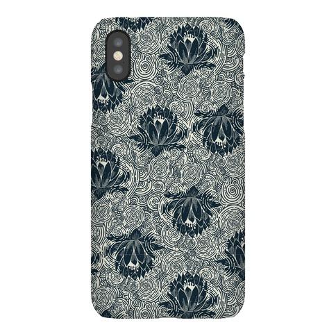 Lotus Flower Pattern Phone Case