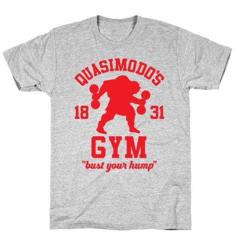 Quasimodo's Gym Mens T-Shirt