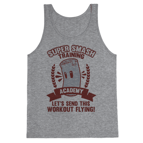 Super Smash Training Academy Tank Top