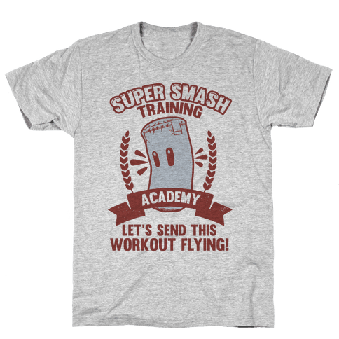 Super Smash Training Academy Mens T-Shirt