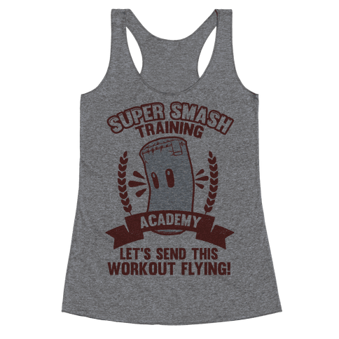 Super Smash Training Academy Racerback Tank Top