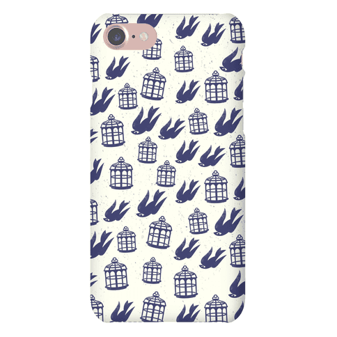 Bioshock Infinite Pattern (Bird and Cage) Phone Case
