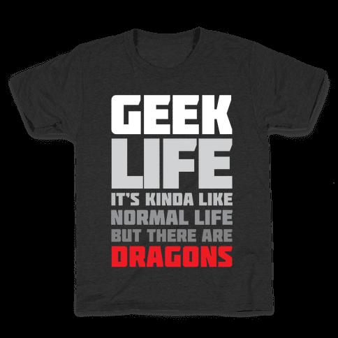 Geek Life Kids T-Shirt