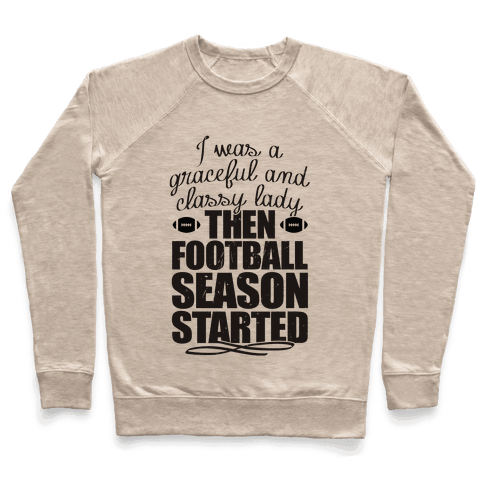 Football Lady Pullover