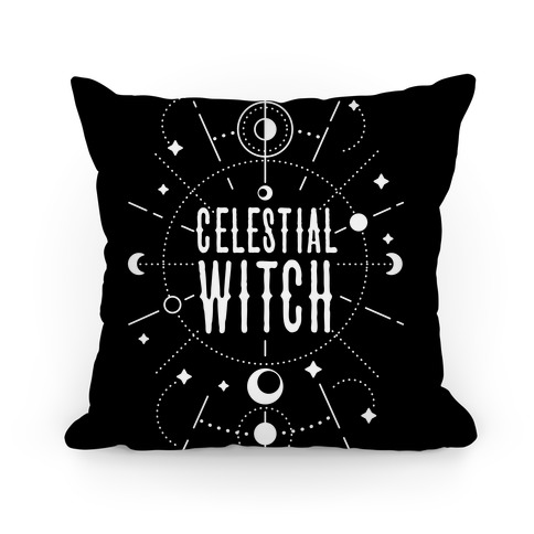Celestial Witch Pillow