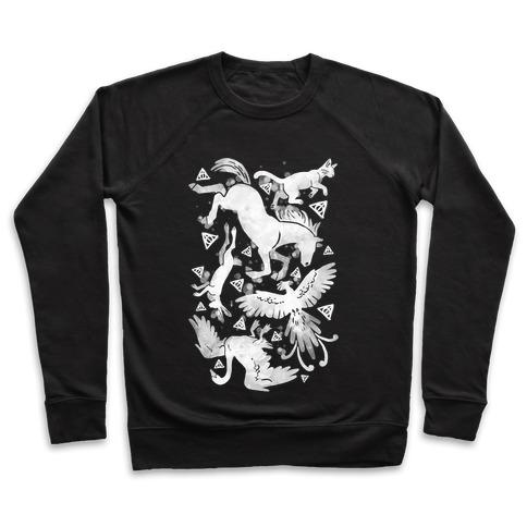 Hogwarts Patronus Pattern Pullover