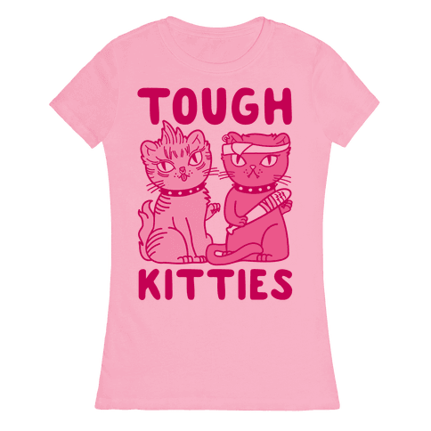 Tough Kitties Womens T-Shirt