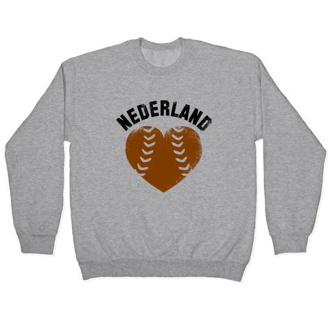 Nederland Baseball Love (Baseball Tee) Pullover