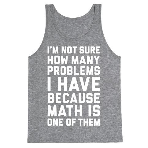 Math Problems Tank Top