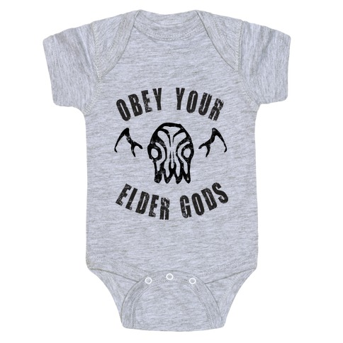 Obey Your Elder Gods Baby Onesy