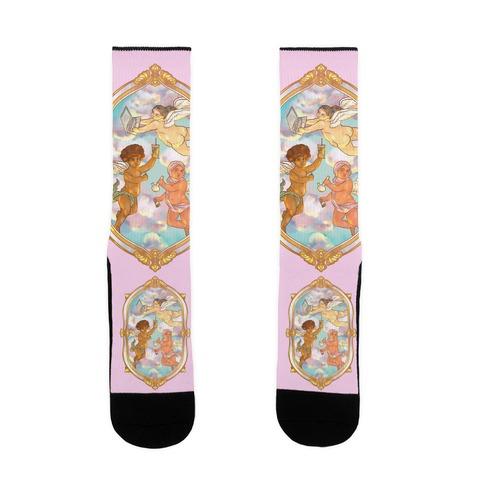 Modern Cherubs Sock