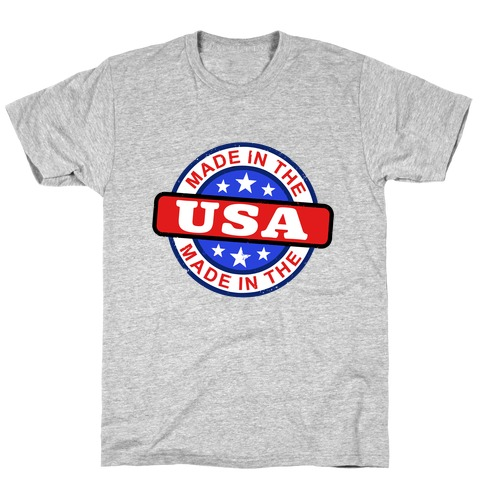Made In The USA (Flag) T-Shirt