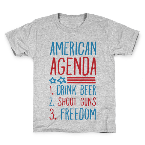 American Agenda Kids T-Shirt