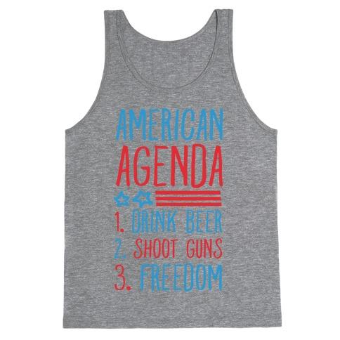 American Agenda Tank Top