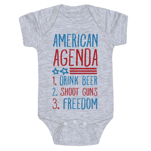 American Agenda Baby Onesy