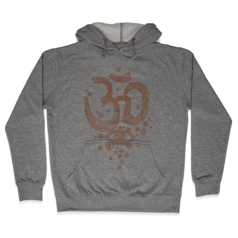 Om And Eye Hooded Sweatshirt