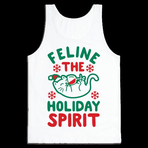 Feline the Holiday Spirit Tank Top