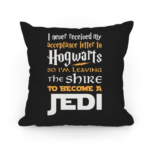 Hogwarts Shire Jedi Pillow