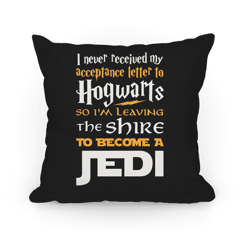 Hogwarts Shire Jedi Pillow