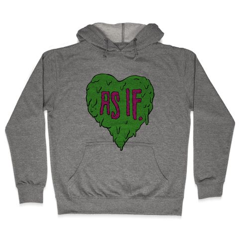 As If Heart Hooded Sweatshirt