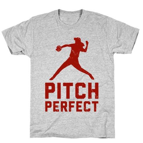 Pitch Perfect (Baseball Tee) T-Shirt
