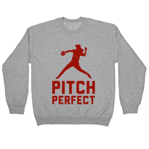 Pitch Perfect (Baseball Tee) Pullover