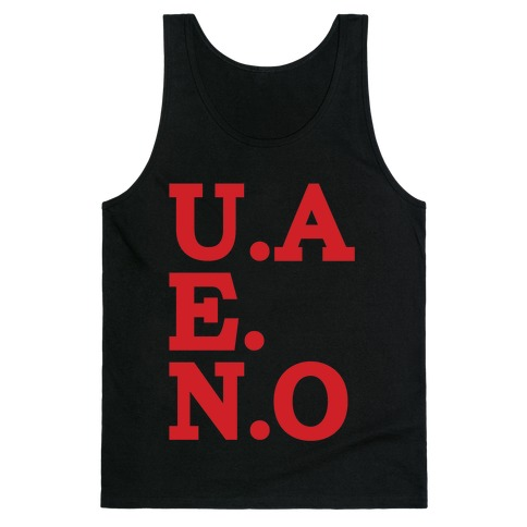 U.A.E.N.O Tank Top
