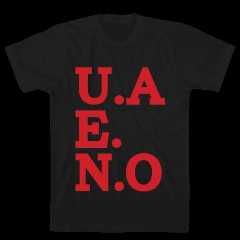 U.A.E.N.O Mens T-Shirt
