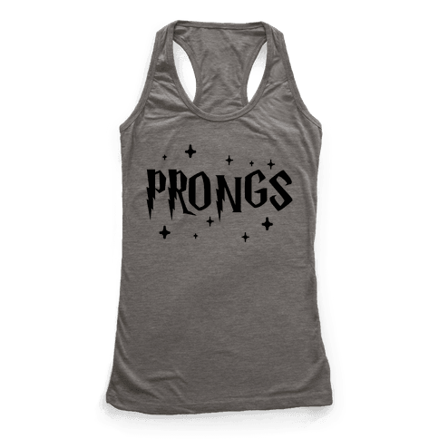 Prongs Best Friends 3 Racerback Tank Top