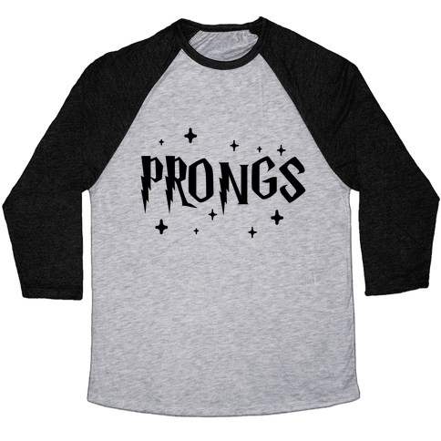 Prongs Best Friends 3 Baseball Tee