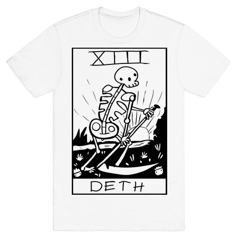 Badly Drawn Tarots: Death T-Shirt