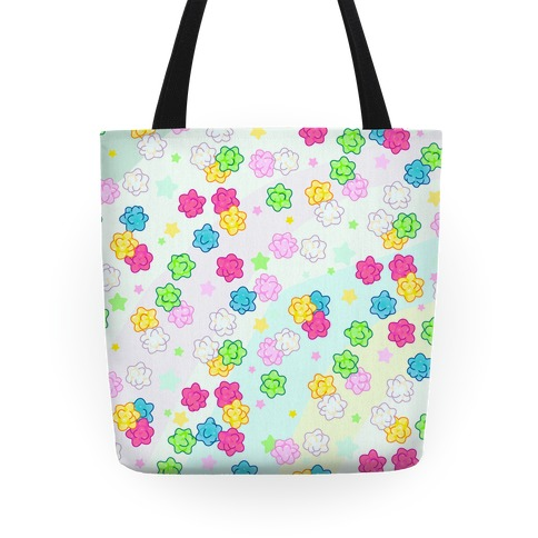 Konpeit Candy Star Pattern Tote