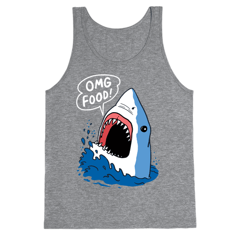 Omg Food Shark Tank Top