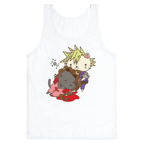 Final Cat Fantasy Tank Top