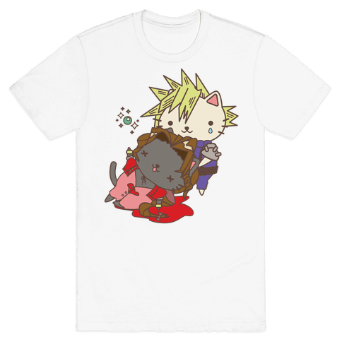 Final Cat Fantasy Mens T-Shirt