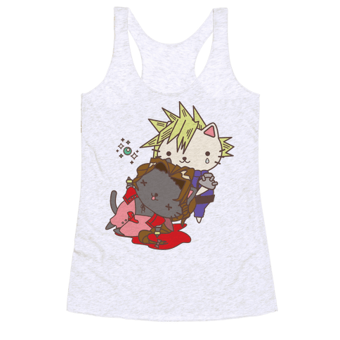 Final Cat Fantasy Racerback Tank Top