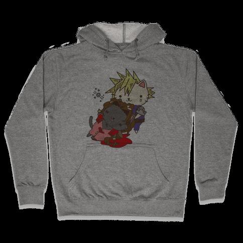 Final Cat Fantasy Hooded Sweatshirt