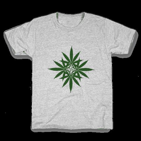 Leaf Pattern Kids T-Shirt