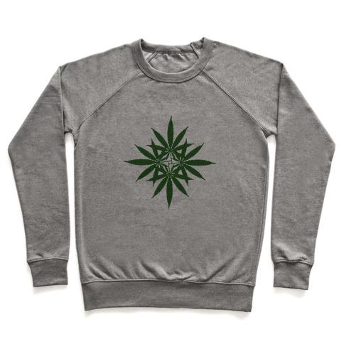 Leaf Pattern Pullover