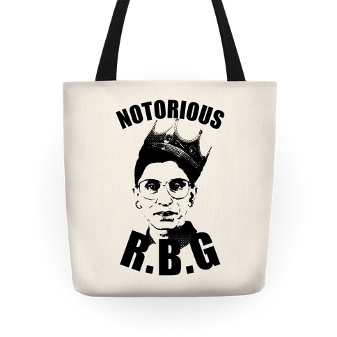 Notorious R.B.G. Tote