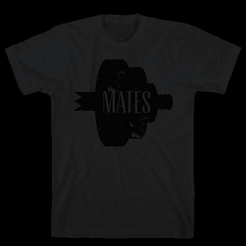 Swole Mates (black) Mens T-Shirt