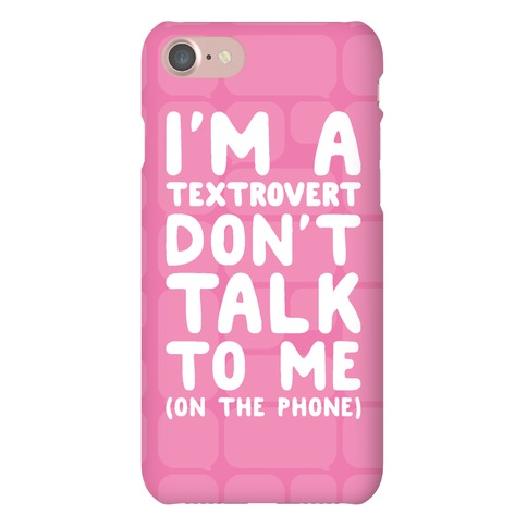 Textrovert Phone Case