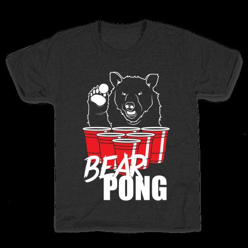Bear Pong Kids T-Shirt
