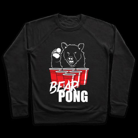Bear Pong Pullover