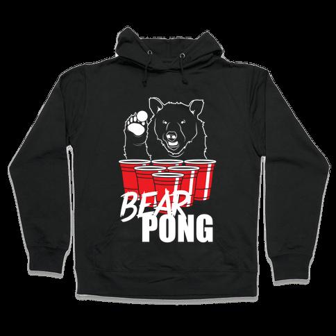 Bear Pong Hooded Sweatshirt