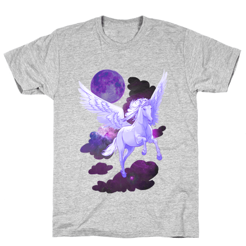 Cosmic Pegasus Mens T-Shirt