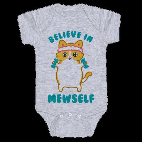 Believe In Mewself Baby Onesy